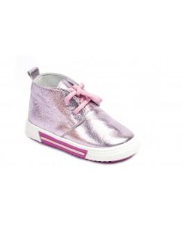 Casual Deri Ayakkabı Lila