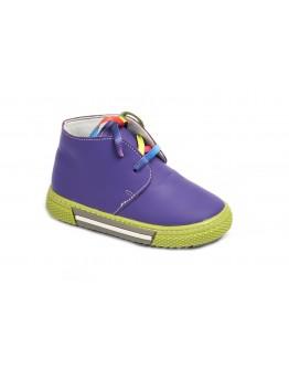 Casual Deri Ayakkabı Mor