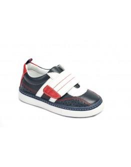 Casual Deri Ayakkabı Lacivert