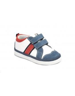Casual Deri Ayakkabı Mavi