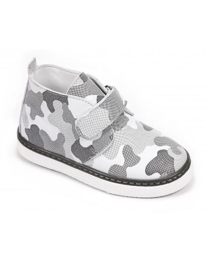 Casual Deri Ayakkabı Krem