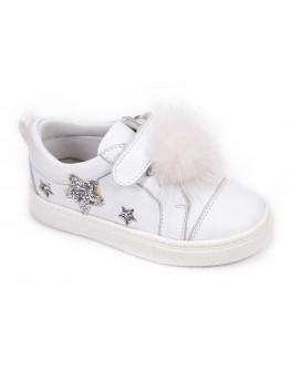 Casual Deri Ayakkabı Beyaz