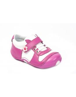 First Step Deri İlk Adım Ayakkabı Fuşya