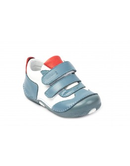 First Step Deri İlk Adım Ayakkabı Mavi