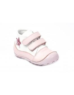 First Step Deri İlk Adım Ayakkabı Pembe