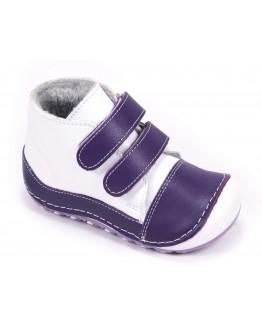 First Step Deri İlk Adım Ayakkabı Mor