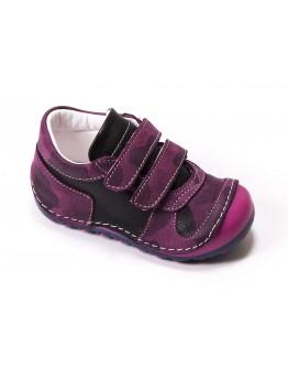 First Step Deri İlk Adım Ayakkabı Mürdüm
