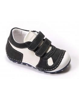 First Step Deri İlk Adım Ayakkabı Siyah