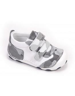 First Step Deri İlk Adım Ayakkabı Gri