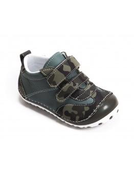 First Step Deri İlk Adım Ayakkabı Yeşil