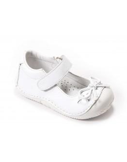First Step Deri İlk Adım Ayakkabı Beyaz